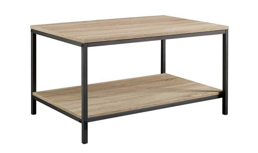 "Image of Sauder 420275 North Avenue Coffee Table, L: 31.50"" x W: 20.00"" x H: 16.54"", Charter Oak finish"