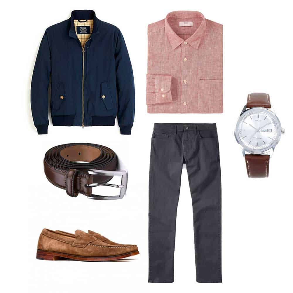 men business casual outfit spring