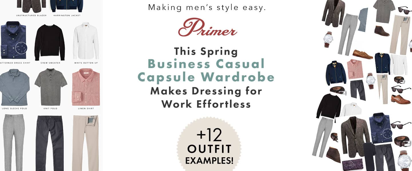 This Spring Business Casual Capsule Wardrobe Makes Dressing for Work Effortless + 12 Outfit Examples