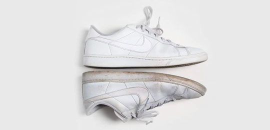 Resuscitate Last Summer's White Sneakers With This Cheap Trick