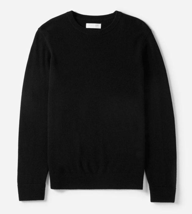 Image of Everlane cashmere crewneck sweater