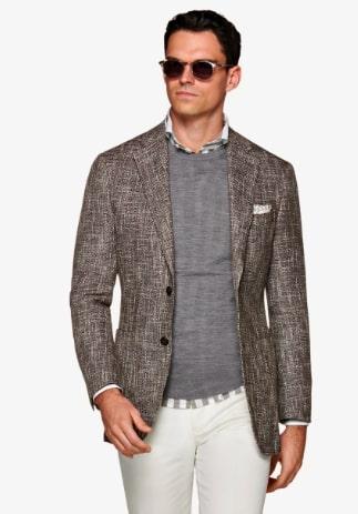 suit supply havana brown jacket