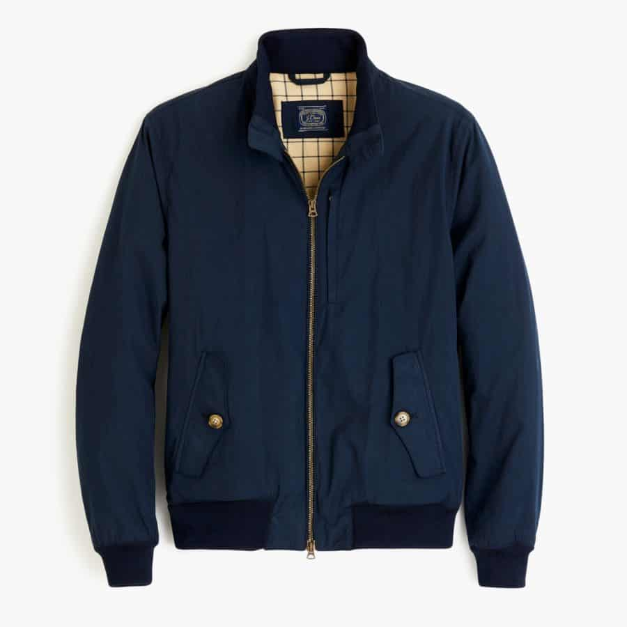 Harrington jacket by JCrew