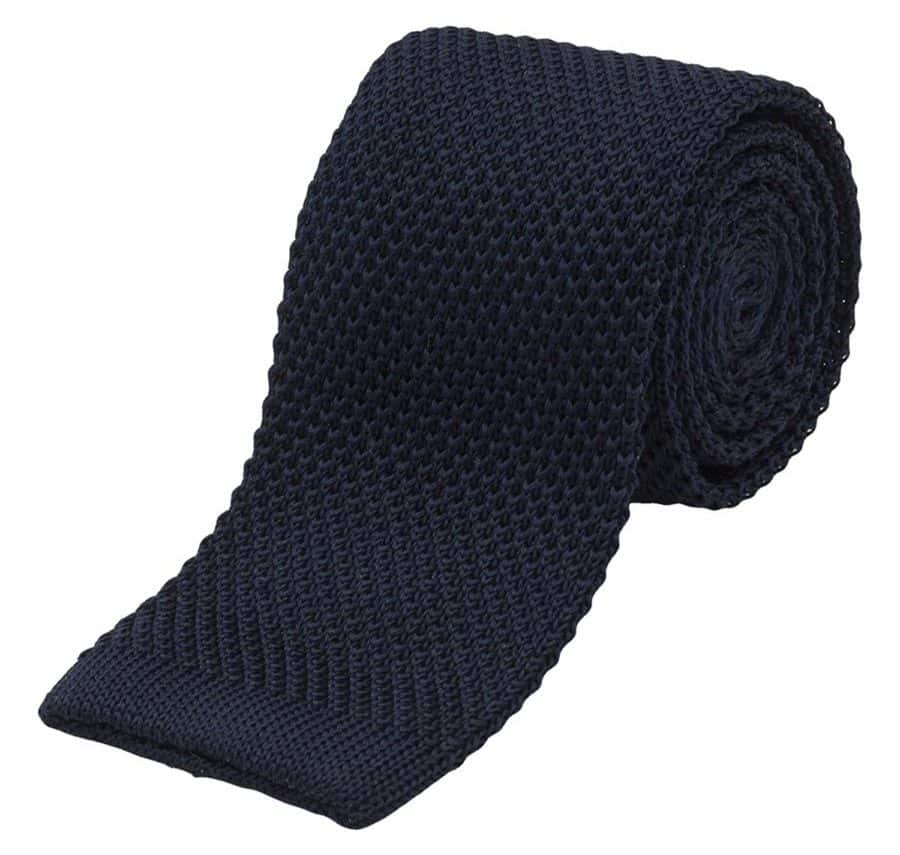 "Image of Benchmark Ties 2.5"" Wide 100% Silk Knit Tie (More Colors Available)"