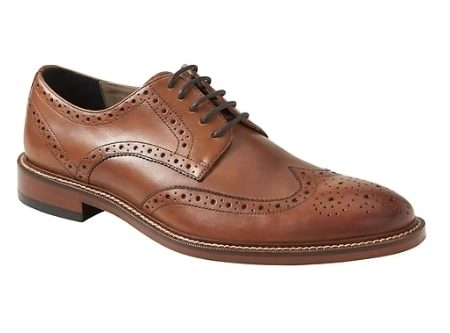 Image of Hadley Italian Leather Brogue Oxford