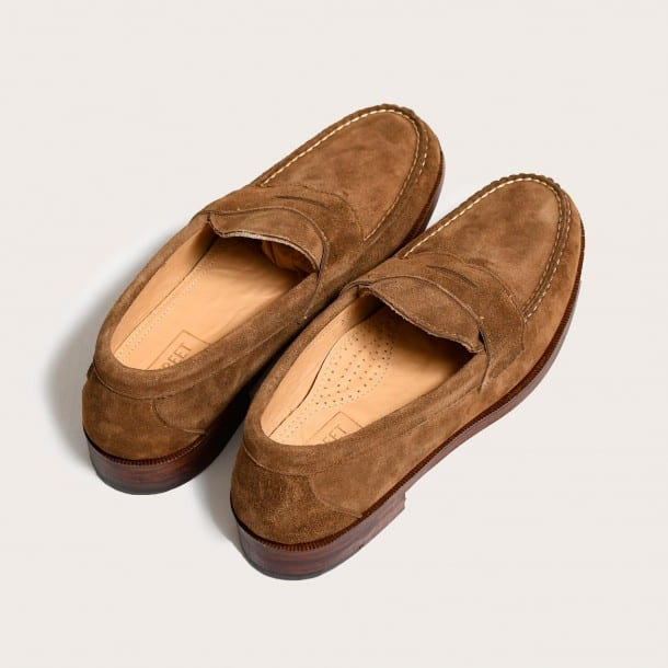 Image of Snuff Suede Penny Loafer
