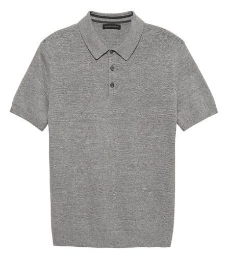 Image of SUPIMA® Cotton Sweater Polo