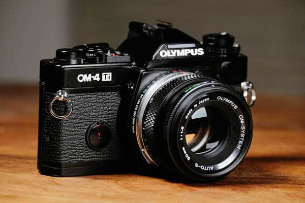 Olympus OM-4Ti with 50mm Lens