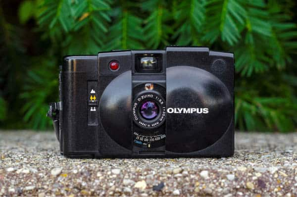Olympus XA2 with 35mm 3.5 Lens