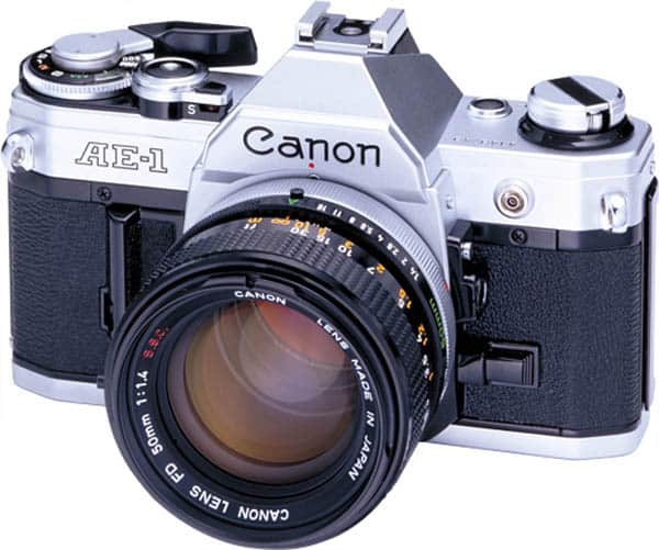 Canon AE-1 with 50mm Lens