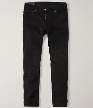 a&f mens straight jeans