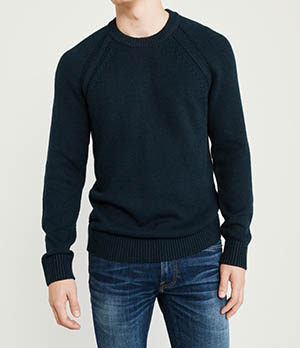 Abercrombie & Fitch cozy crewneck sweater