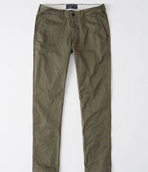 a&f skinny chino pants