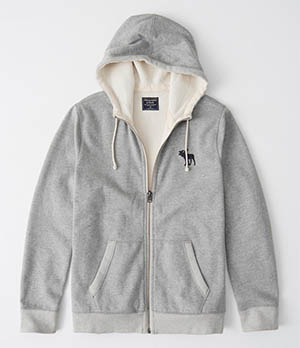 a&f full zip icon hoodie