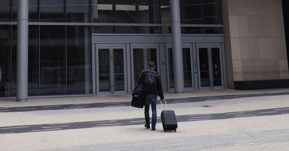 curbside baggage