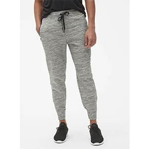jersey workout pants gap