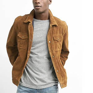 gap suede jacket