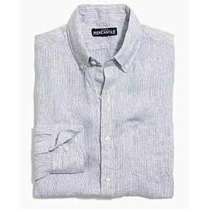 mercantile linen shirt