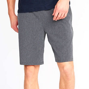 Ripstop 4-Way-Stretch Hybrid Performance Shorts for Men - 9-inch inseam