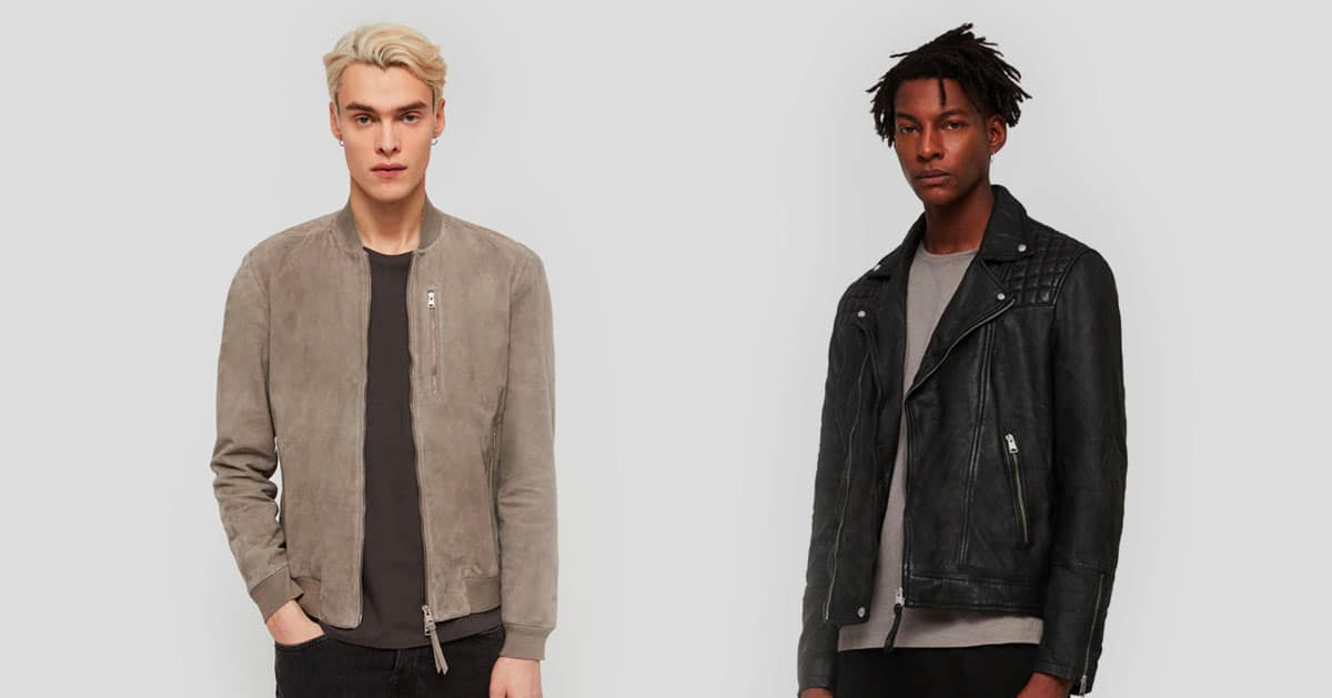Save Up to 50% at AllSaints Right Now Including Leather Jacket Discounts