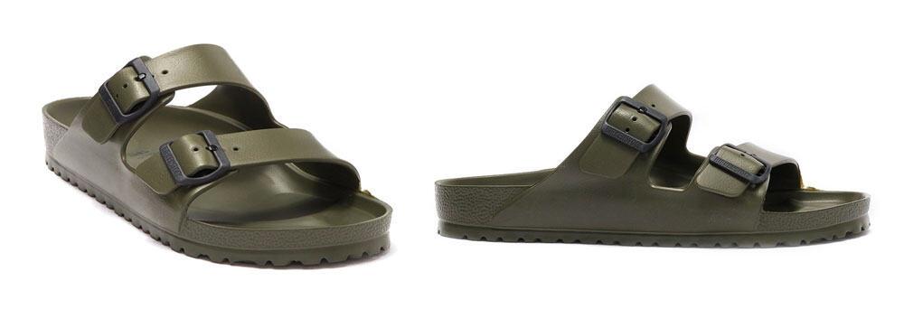 birkenstock khaki sandal