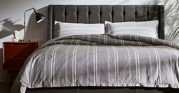 The 13 Best Picks for Masculine Bedding: Comforters, Duvet Covers, and Blankets for Men with Style