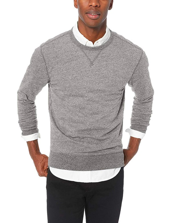 J.Crew Mercantile Men's Marled Cotton Crewneck Sweatshirt