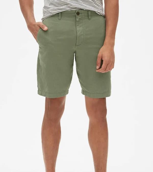 Gap Khaki-Linen Short