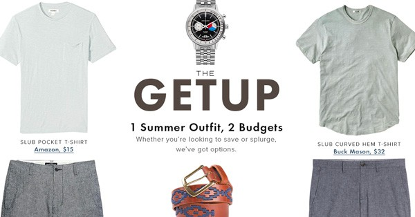 One Getup, Two Budgets: Summer Style At Any Price Point