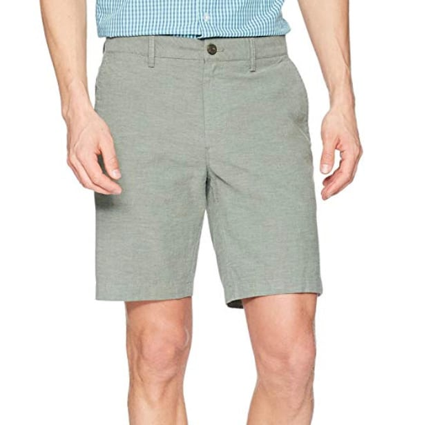 "Amazon Goodthreads 9"" Stretch Oxford Short"