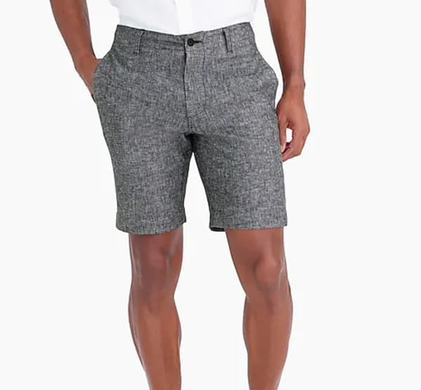 "J.Crew Factory 9"" Linen Cotton Short"