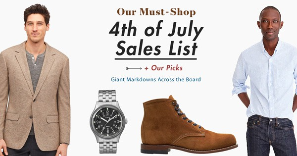 Our Must-Shop Fourth of July Sales + Our Picks