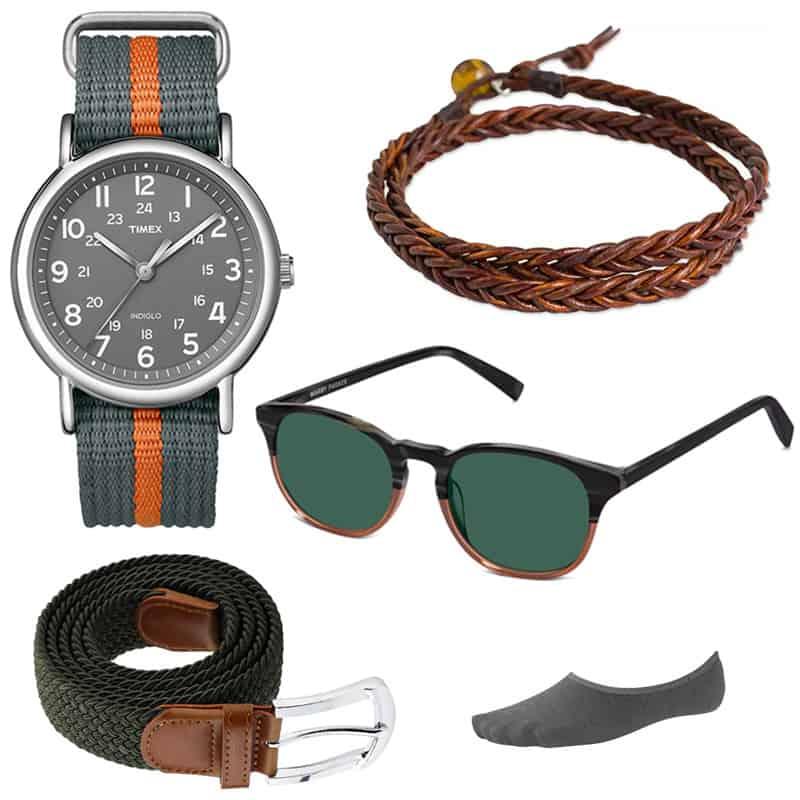 men summer accessories