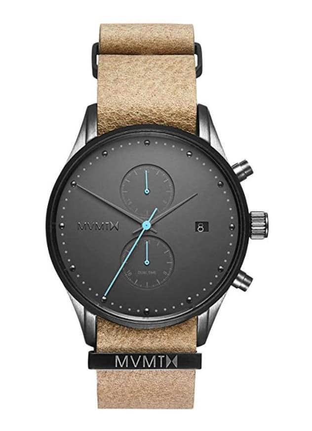 MVMT Voyager Watches | 42 MM Men's Analog Watch | Nylon Wristband