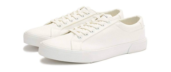 New Republic Men's Ellroy Canvas Sneaker - White