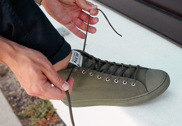 nothing new olive high top