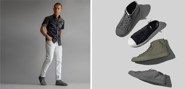This New Affordable Smart Casual Sneaker is Made from Water Bottles and Fishing Nets + 2 Outfits!