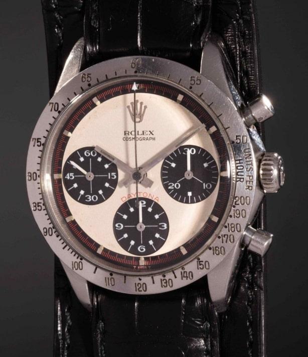 Paul Newman's auction record setting Rolex Daytona