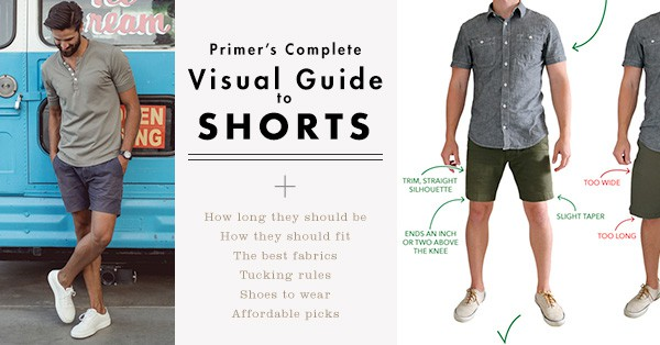 Primer's Complete Visual Guide to Shorts – Updated