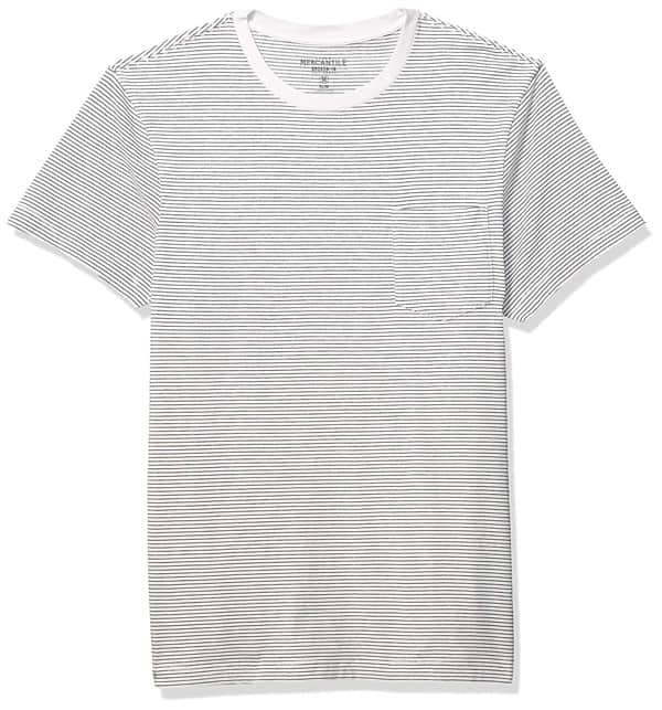 J.Crew Mercantile Men's Short-Sleeve Striped Crewneck T-Shirt