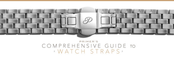 comprehensive guide to watch straps banner