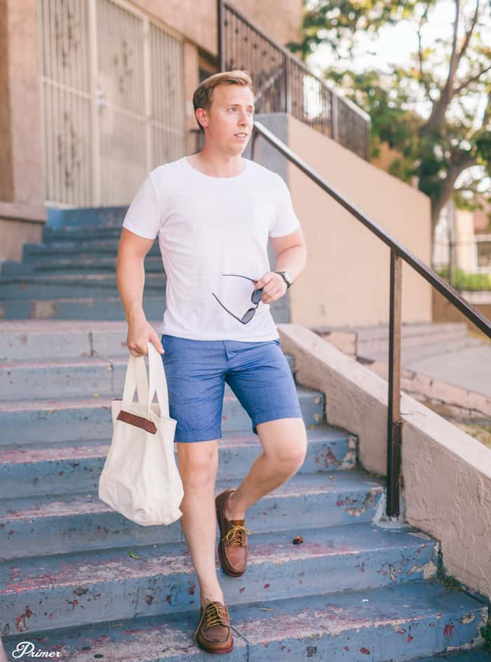 5 Complete Looks with 1 White Pocket T Shirt