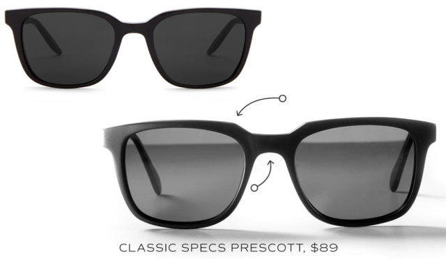 classic specs no time to die alternative