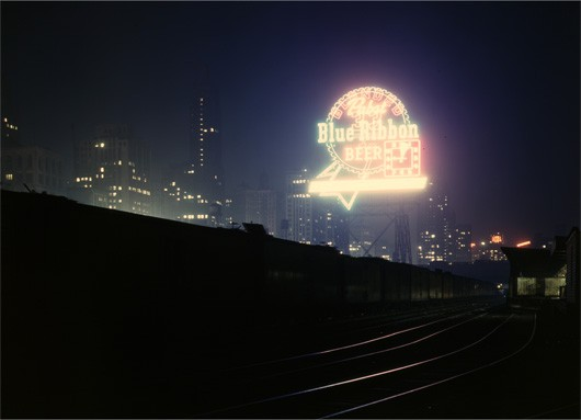 Chicago's South Water Street Freight Terminal, April 1947
