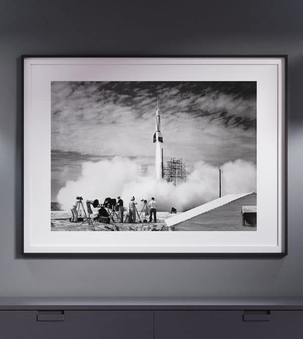 free wall art first rocket launch cape canaveral