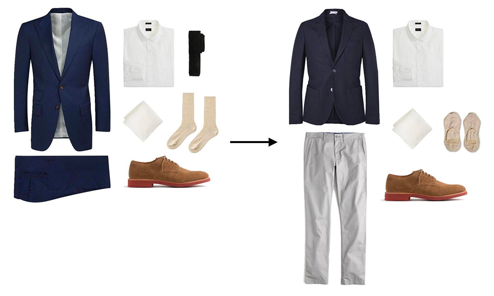 fashion tip dress down outfit
