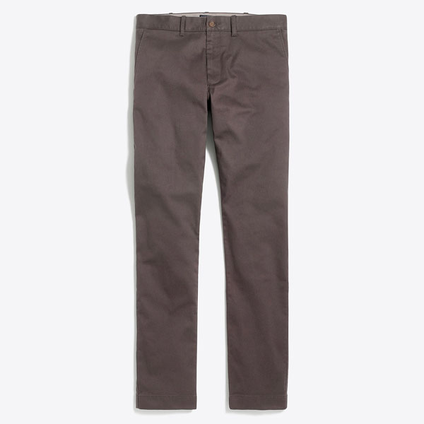Slim fit flex chino