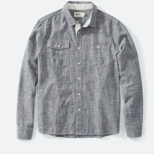 Hemp Chambray Work Shirt