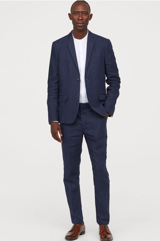 H&M Linen suit