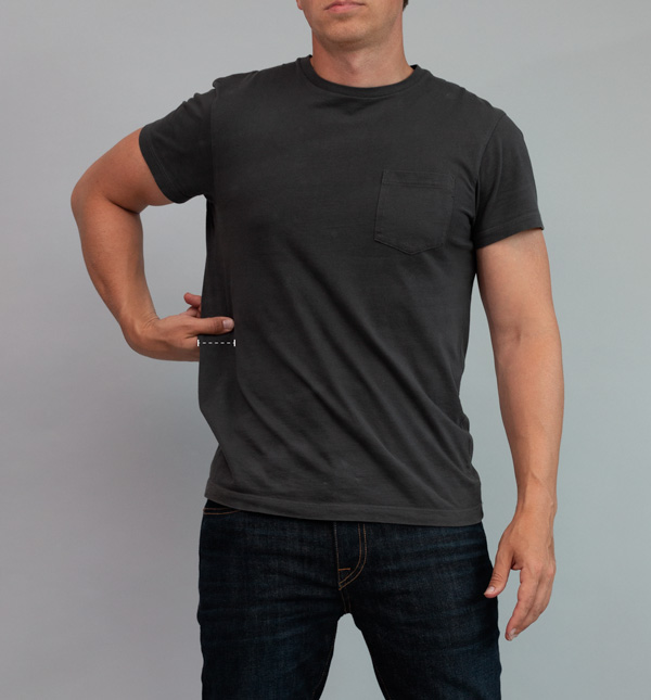 how baggy should a tshirt be